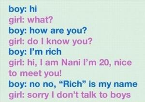 funny flirting
