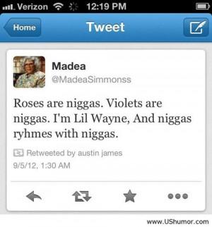 Funny Lil Wayne Quotes Lil wayne and niggas us humor