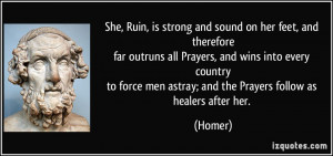She Is Strong Prayer Quotes
