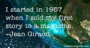 Jean Giraud quotes: top famous quotes and sayings from Jean Giraud