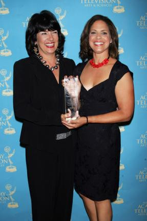 Soledad O'Brien and Christiane Amanpour arrive for the News and ...