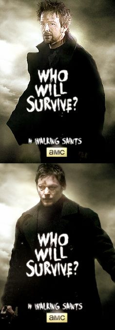 Sean Patrick Flanery ~ Norman Reedus ~ The Walking Saints ~ Connor and ...