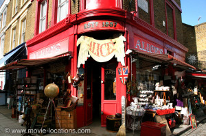 road london antiques shops along portobello road notting hill