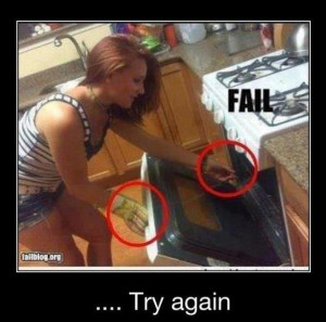 The Ultimate Cooking Fail