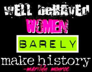 Well Behaved Women Image