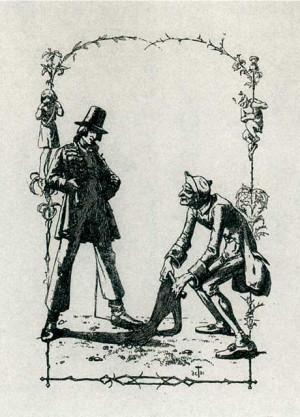 ... Adelbert von Chamisso's Peter Schlemihl , originally written in 1814