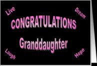 Graduation Granddaughter