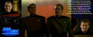 Star Trek The Next Generation The Wounded by ENT2PRI9SE