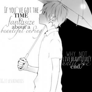 ... tags for this image include: anime, boy, manga, monochrome and sad