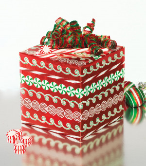 Holiday Mints Roll Wrap