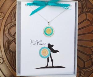 Girl Power Quotes - Unique Encouragement Card - Empowerment Card ...