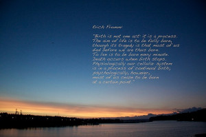 Erich Fromm Quote by ˇBerd, via Flickr
