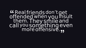 Choose your friends wisely!