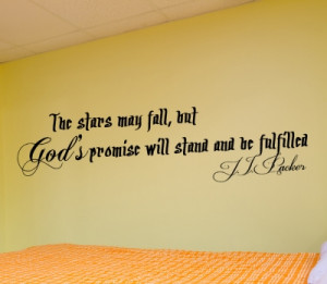 JJ Packer The stars...Wall Decal Quotes