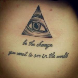 Tumblr Illuminati Tattoo Owl Tagged As