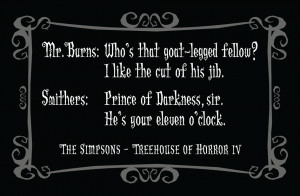 Delightfully Dark Quotes: The Simpsons