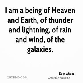 Eden Ahbez - I am a being of Heaven and Earth, of thunder and ...