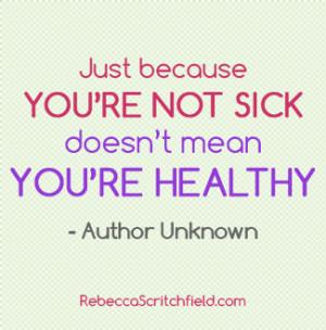 Feeling Sick Quotes Joyful
