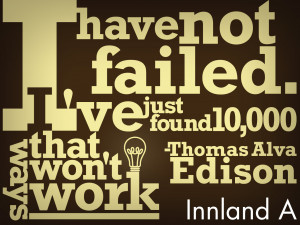 More Thomas Alva Edison's Quotes and Sayings:
