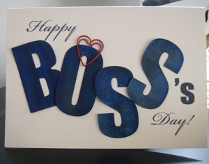 Wish You a Happy Boss's Day