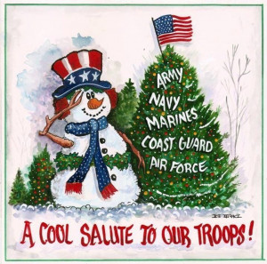 our troops military christmas christmas tree snowman christmas quotes ...