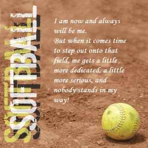 Softball Teammate Quotes Softball quote