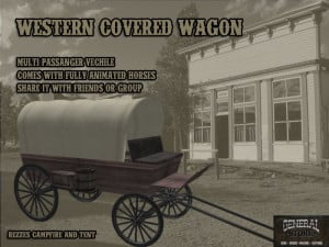 WESTERN COVERED WAGON contents