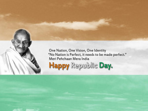 Mahatma Gandhi Quotes for Republic day of India