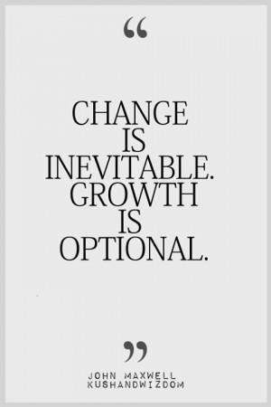 Change & Growth