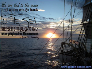 ... # tallship # quote # inspiration # pictoncastle # jfk # quotes