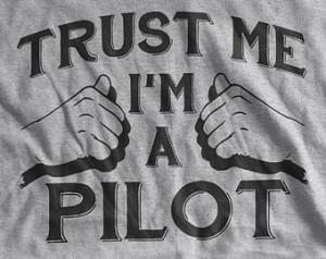 Pilot shirt airplanes T Shirt I'm a pilot aviation air plane Screen ...