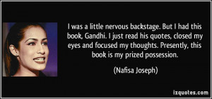 More Nafisa Joseph Quotes