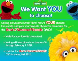 Sesame Street: Best of Friends DVD Review