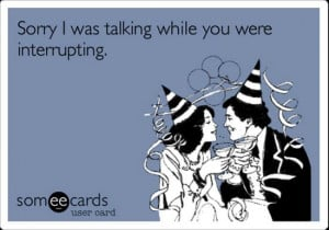 Speaking of acerbic apologies, you've heard of Someecards.com ...
