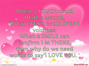The Words I Love You Quotes Words to say i love you