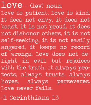definition of love