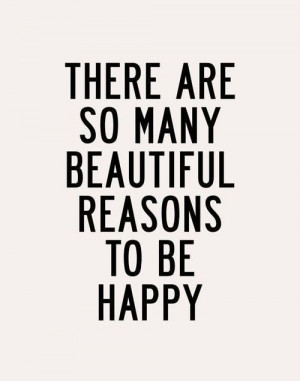 beautiful, feel, happy, quote, things