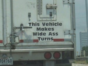 20 Hilarious Backside Quotes On Trucks Written By Evil Genius Drivers ...