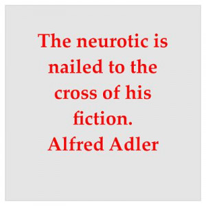 Great Alfred Adler quotes on gifts, posters and t-shirts.
