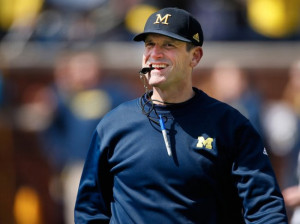 Jim Harbaugh is known as one of the most competitive, intense, and odd ...
