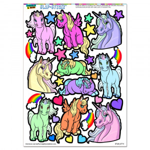 cute unicorns rainbows hearts stars clouds horse pony pegasus slap