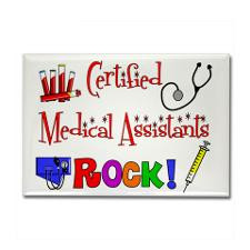 Medical Assistant Rectangle Magnet for