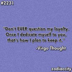 Hurt Virgo Girls Awesome...