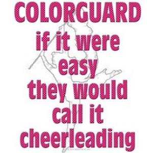 color guard quote/icon clipped by happy sun! :)