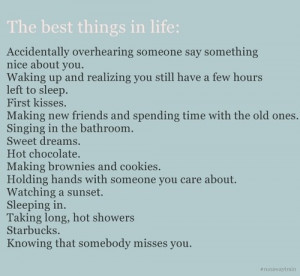 life_best_things_in_life_quotes_best_things_list_words ...
