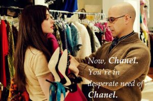 the devil wears prada, chanel, movie quotes, fashion quotes