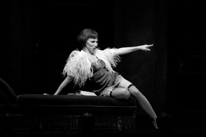 ... decadence? Deborah Gibson as Sally Bowles in N.C. Theatre's Cabaret