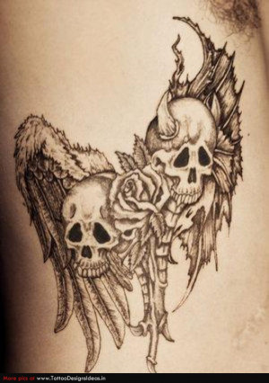 Good and Evil Tattoos good and evil