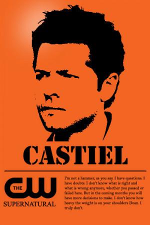 Castiel Supernatural Quotes Castiel Supernatural Quotes Do