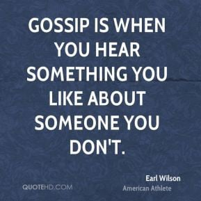More Earl Wilson Quotes